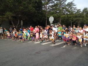 Santa Cruz Firecracker Fun Run - Runners get the job done